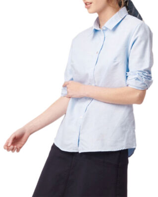 Boomerang Lilly Solid Organic Oxford Shirt Pale Blue