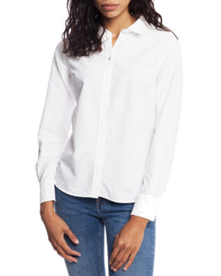 Boomerang Lilly Solid Organic Oxford Shirt White