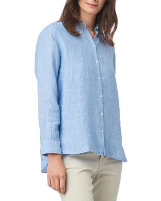 Boomerang Lina Linen Shirt Light Indigo
