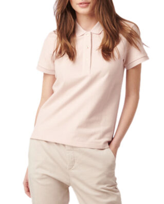 Boomerang Mary Polo Pique Shirt Dusty Pink