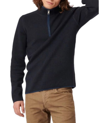 Boomerang Melvin Half Zip Sweater Night Sky