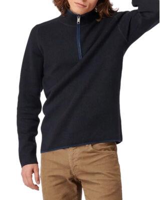 Boomerang Melvin Half Zip Sweater Night Sky