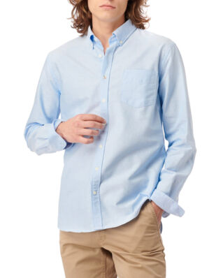 Boomerang Nils Organic Cotton Solid Oxford T.A. Fit B. Shirt Ice Blue