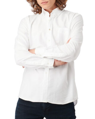 Boomerang Nils Organic Cotton Solid Oxford T.A. Fit B. Shirt White