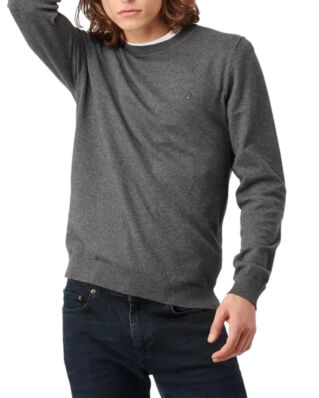 Boomerang Noel Crew Neck Sweater Grey Melange