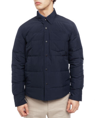Boomerang Oliver Light Down Overshirt Midnight Blue