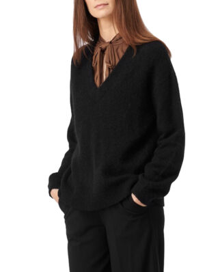 Boomerang Rutan V-Neck Sweater Black