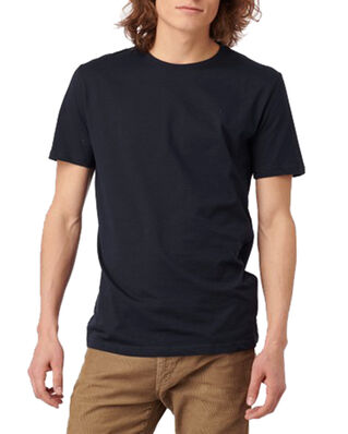 Boomerang Basic O-Neck Organic Cotton T-Shirt Midnight Blue