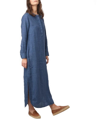 Boomerang Båstad Linen Dress Dark Indigo