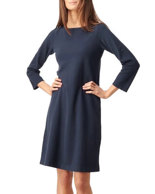 Boomerang Blenda Pique Dress Midnight Blue