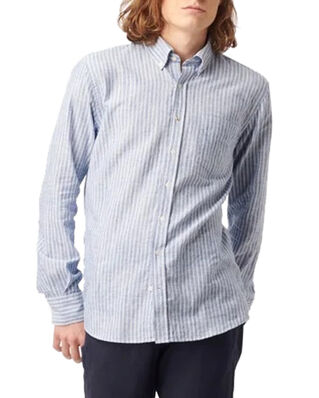 Boomerang Charlie Striped Shirt Electric blue