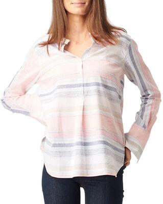 Boomerang Clara Multi Stripe Shirt Pale Blossom