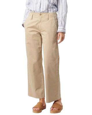 Boomerang Frida Cropped Trouser Khaki Beige