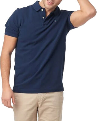 Boomerang Joe Organic Cotton Polo Piqué New blue