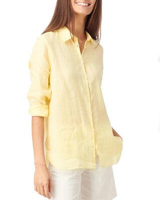 Boomerang Lina Linen Shirt Soft Sunshine