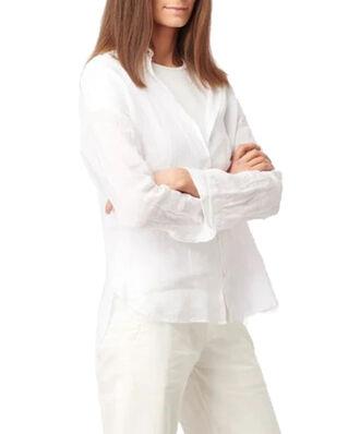 Boomerang Lina Linen Shirt White