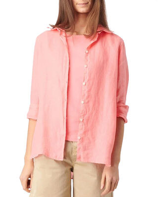 Boomerang Lina Linen Shirt Wild Strawberry