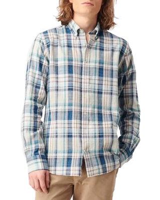 Boomerang Malte Multicheck Shirt Bright Nautic