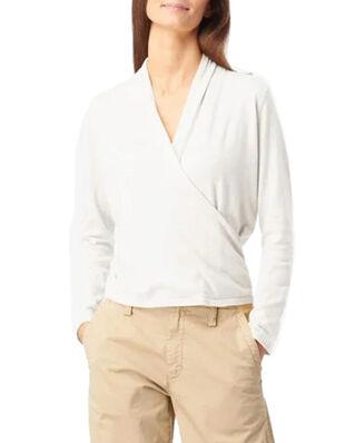 Boomerang Sarali Wrap Sweater Offwhite
