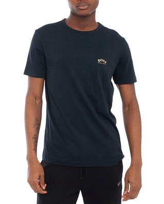BOSS BOSS Athleisure Tee Curved Dark Blue