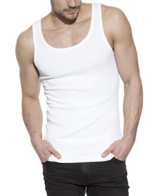 Bread & Boxers Ribbed Tank White