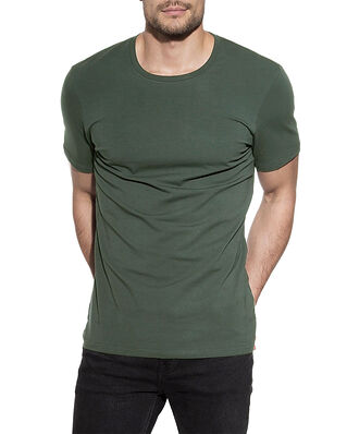 Bread & Boxers Crew Neck Regular Dusty Green
