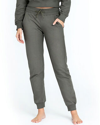 Bread & Boxers Lounge Pant Olive Green
