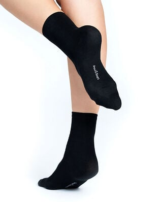 Bread & Boxers W´s Socks 2-pack Black