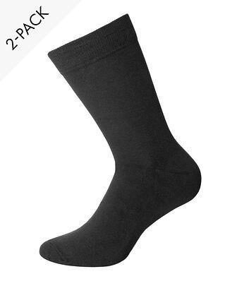 Bread & Boxers 2-Pack Socks Black