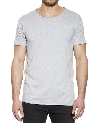 Bread & Boxers Crew Neck Relaxed Grey