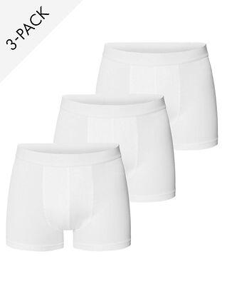Bread & Boxers M's 3-Pack Boxer Brief White
