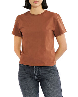 Bread & Boxers SB T-Shirt Classic Rust Brown