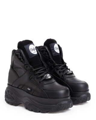 Buffalo Classic High Leather Black