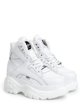 Buffalo Classic High Leather White