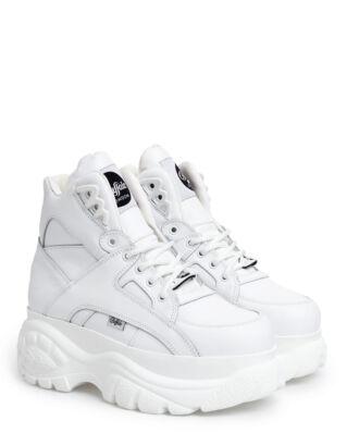 Buffalo Classic High Leather White