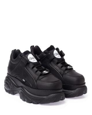 Buffalo Classic Low Leather Black