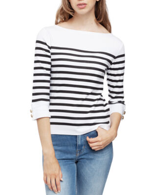 Busnel Tronchet Top Clear White/Black Stripe