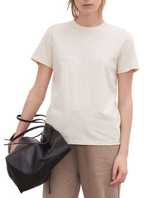 By Malene Birger  Desmos Cotton T-Shirt Cream