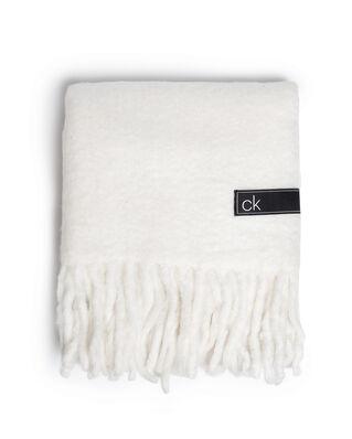 Calvin Klein  Boiled Scarf White