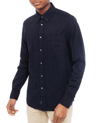 Calvin Klein  Brushed Twill Shirt Calvin Black