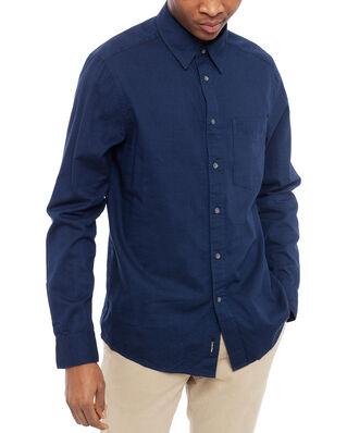 Calvin Klein  Brushed Twill Shirt Calvin Navy