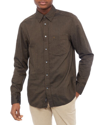 Calvin Klein  Brushed Twill Shirt Military Olive