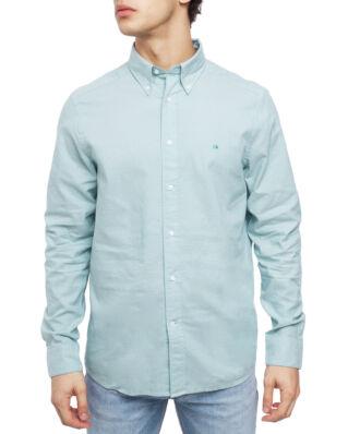 Calvin Klein  Button Down Washed Oxford Shirt Fern Green