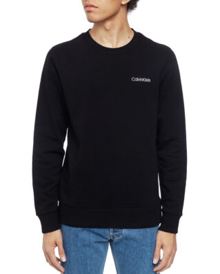 Calvin Klein  Chest Embroidery Sweatshirt Perfect Black