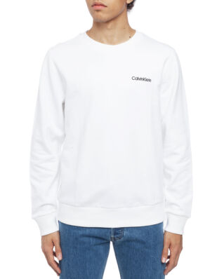 Calvin Klein  Chest Embroidery Sweatshirt Perfect White