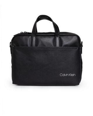 Calvin Klein  CK Direct Slim Laptop Bag Black