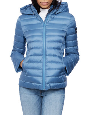 Calvin Klein  Coated Zip Light Down Jacket Coronet Blue
