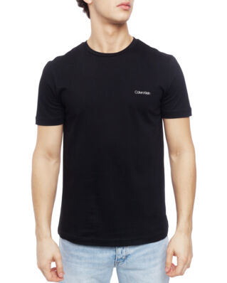 Calvin Klein  Cotton Chest Logo T-Shirt Perfect Black