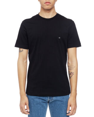 Calvin Klein  Cotton Logo Embroidery T-Shirt Perfect Black