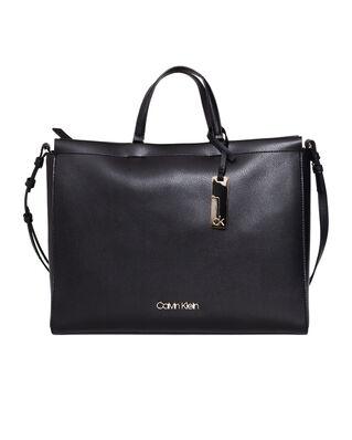 Calvin Klein  Enfold Tote Black